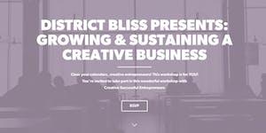 District Bliss + Creative Successful Entrepreneurs:...
