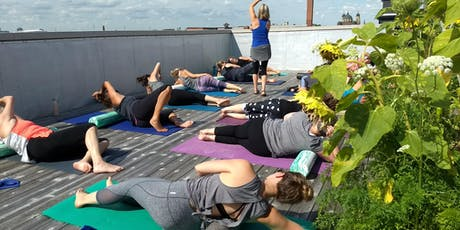 Postural Foam Roller Pilates + Brunch on the Roofdeck tickets