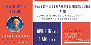 RSA Business Breakfast & Fireside Chat with Google's...