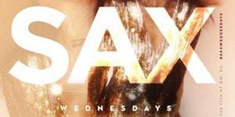 Sax Wednesdays tickets