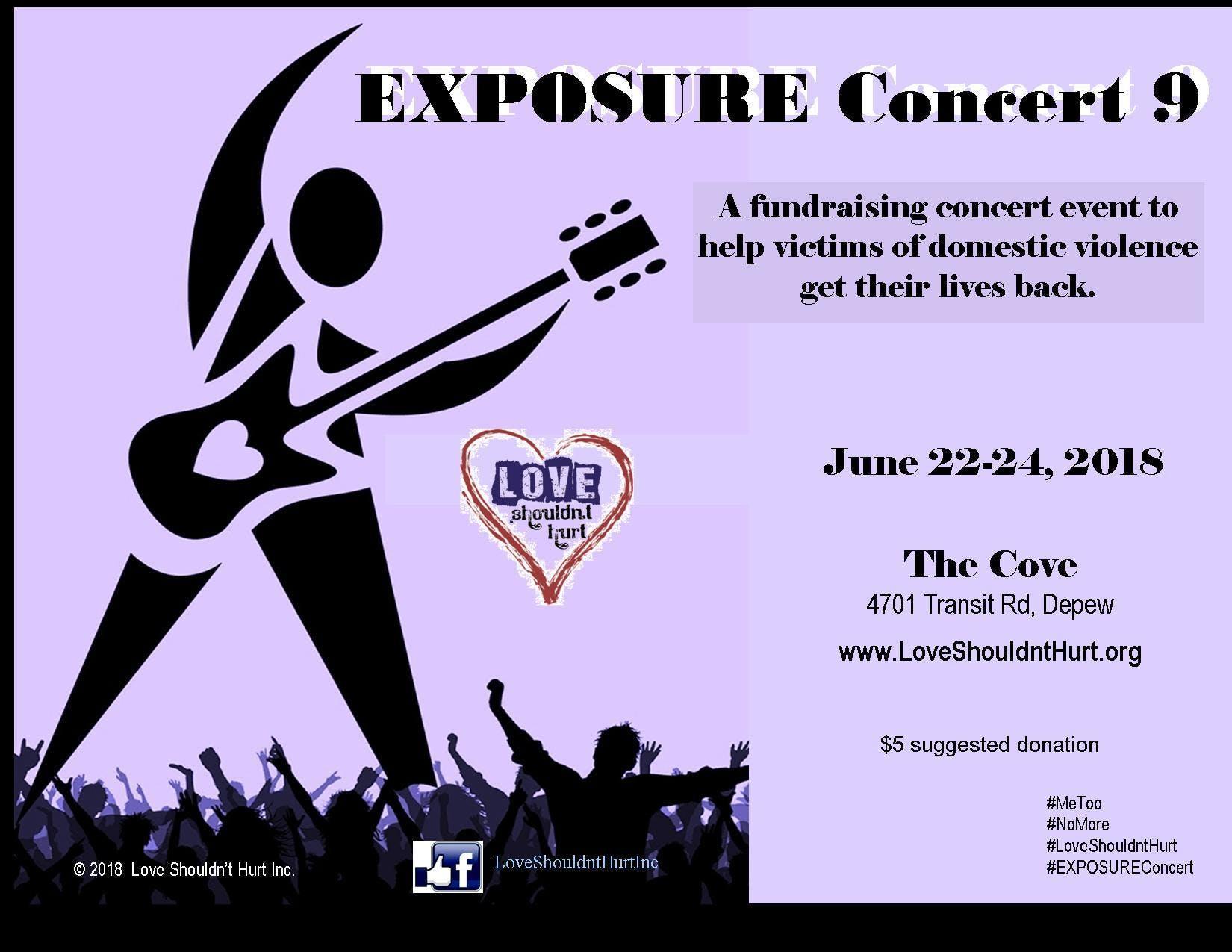 9th Annual EXPOSURE Concert