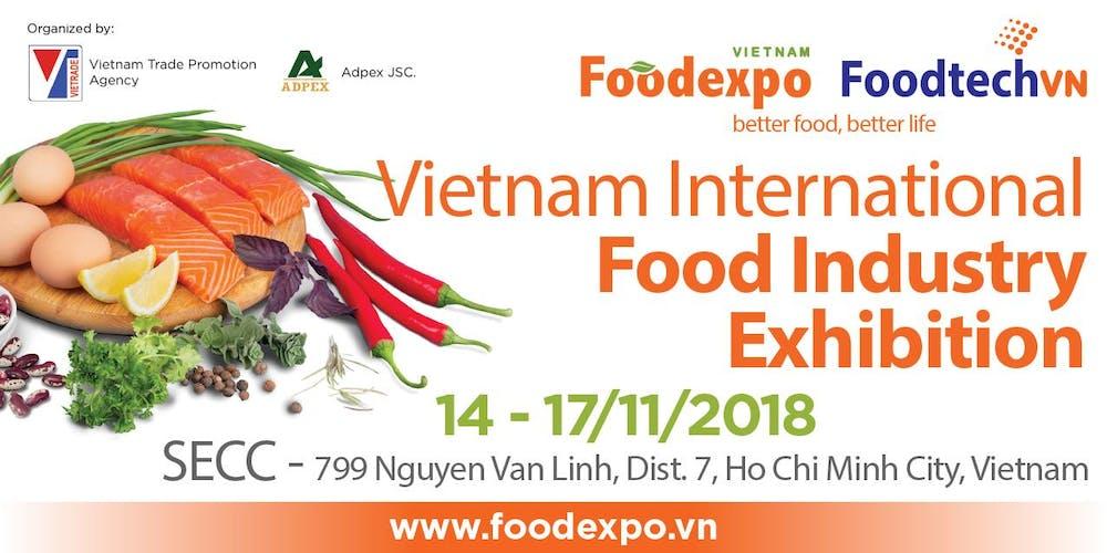 Kết quả hình ảnh cho foodexpo 2018