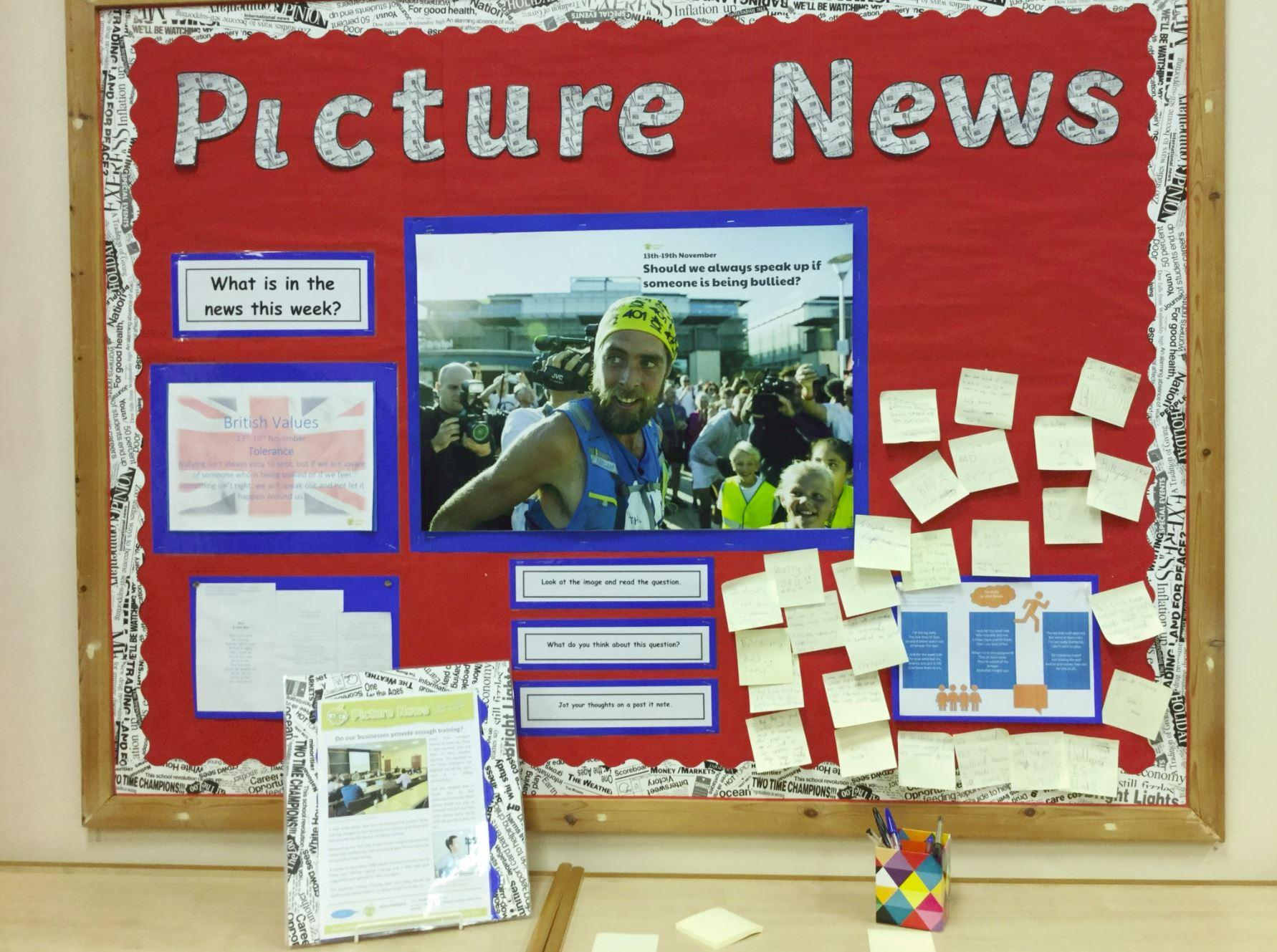 Using the News to Inspire Young Minds - Sheff