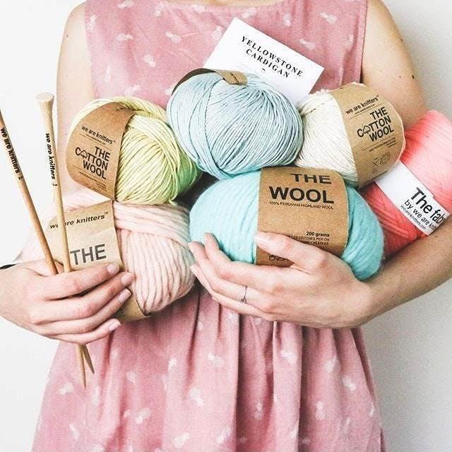 Knitting Party Simone Cardigan Crunch Cardigan Nolita Sweater