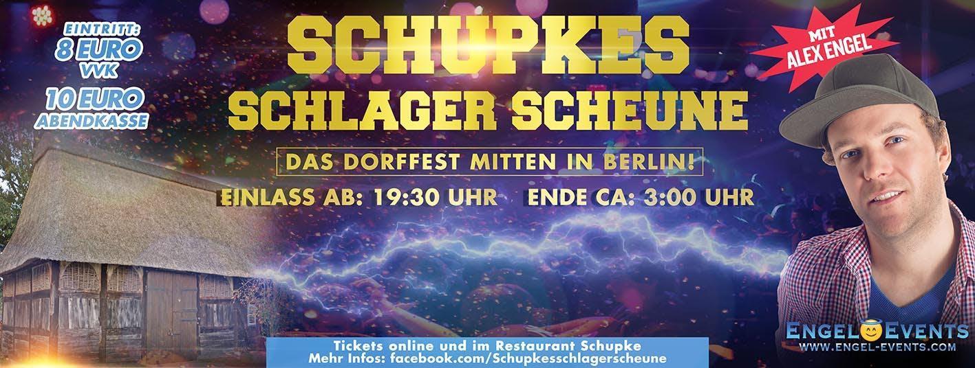 Schupkes Schlager Scheune mit Alex Engel live