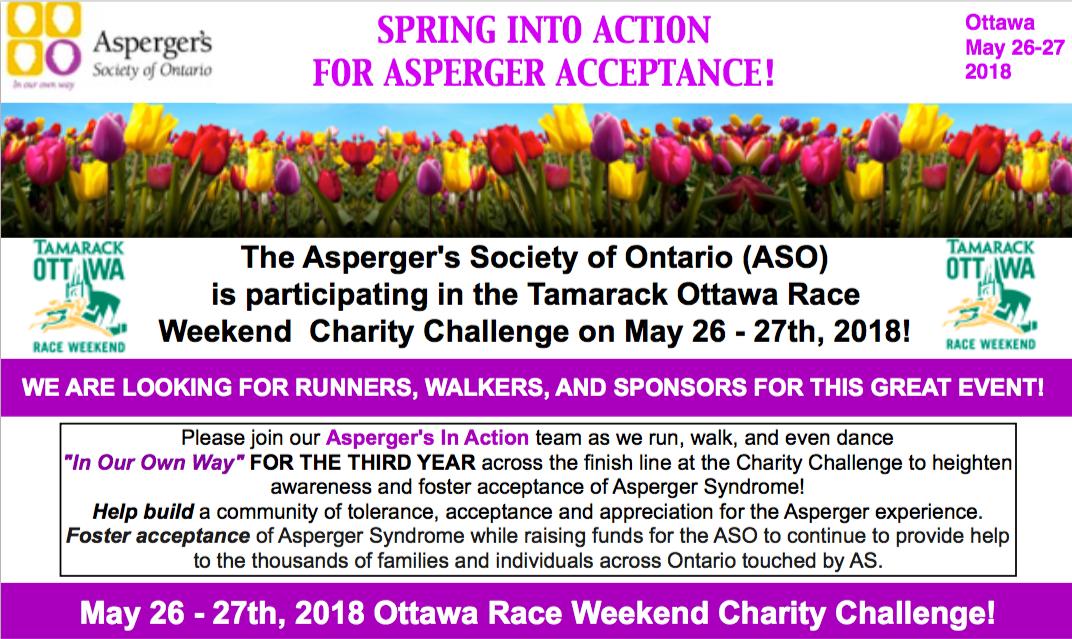 FREE REGISTRATION Tamarack Ottawa Race Weeken