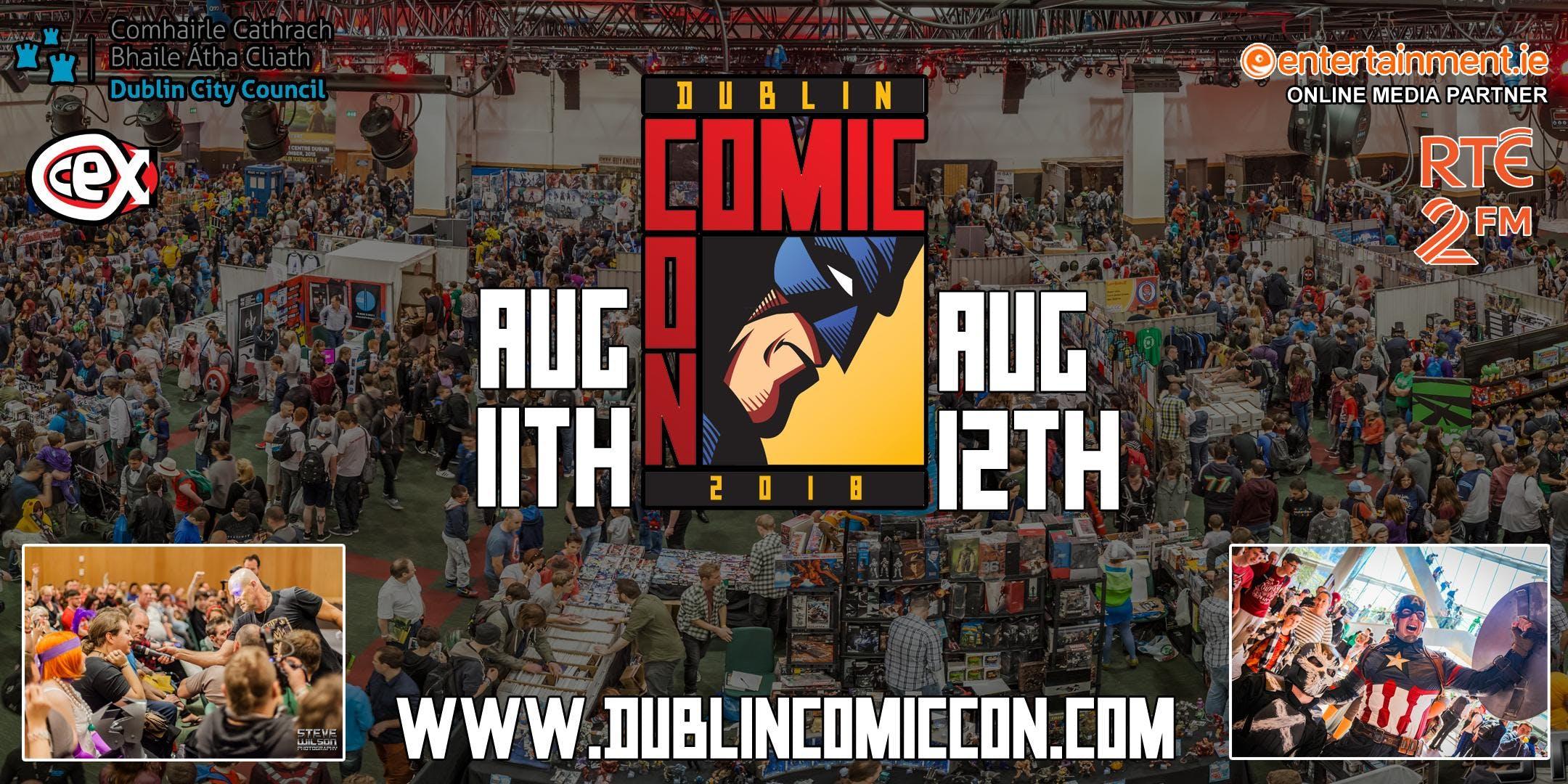 Dublin Comic Con 2018