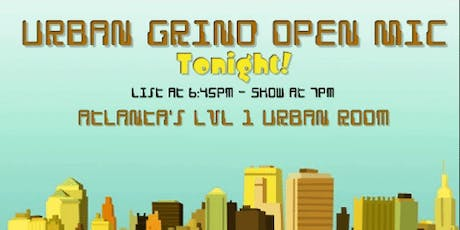 Urban Grind Open Mic Comedy Night tickets