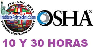 Clases de OSHA 30 Horas $300 Construccion OSHA 10Hr - Flagger $135