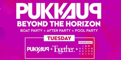 Pukka Up Tuesday Ibiza Boat Party with Together @ Amnesia ft Chase & Status, MK, DJ EZ + More