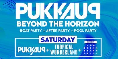 Pukka Up Saturday Ibiza Boat Party with Tropical Wonderland @ Eden