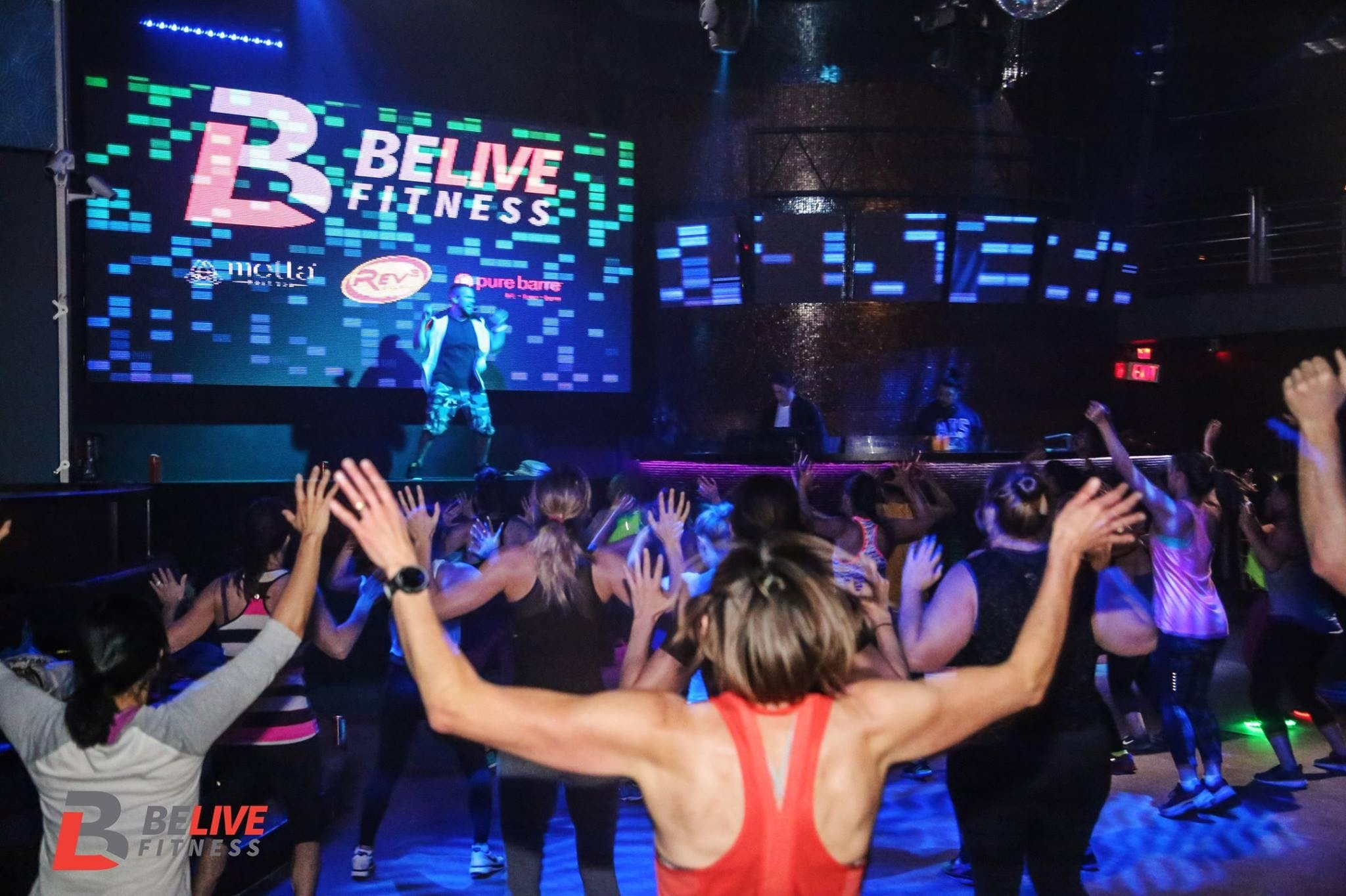 BeLive Fitness Night Club Experience