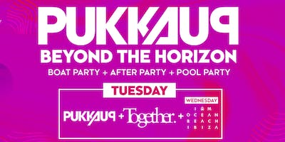 Pukka Up Tuesday Ibiza Boat Party with Together @ Amnesia ft Chase & Status, MK + More