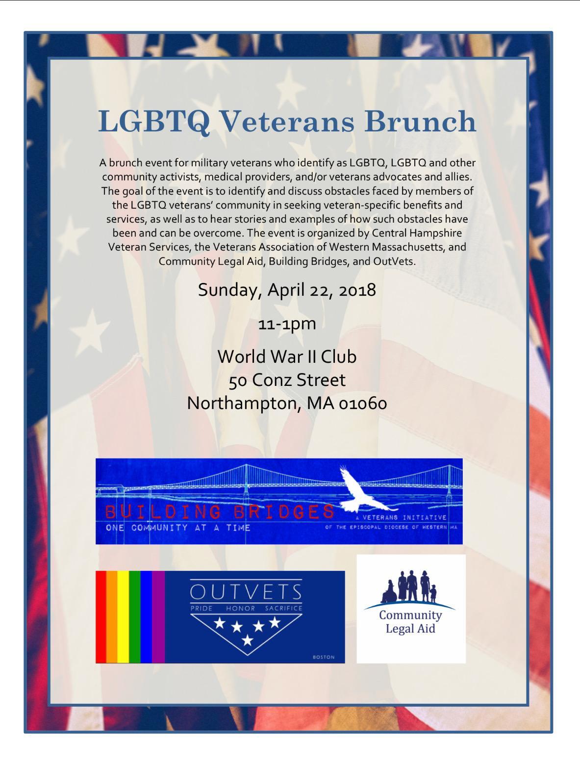 LGBTQ Veterans Brunch