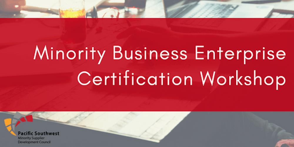 Minority Business Certification Workshop Tickets Tue Nov 27 2018