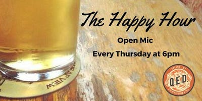 event image The Happy Hour Open Mic