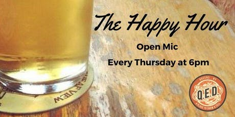 The Happy Hour Open Mic tickets