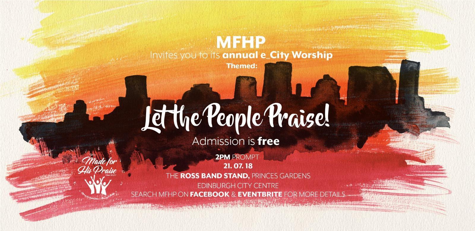e_CityWorship: Let the People Praise!