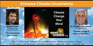 Extreme Climate Uncertainty