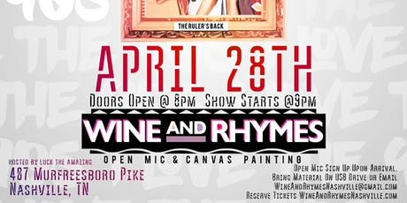 Wine Rhymes Events Eventbrite