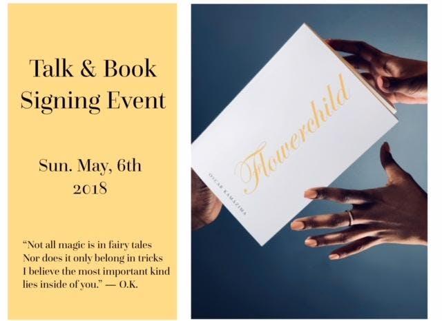 Flowerchild - Talk & Book Signing Event