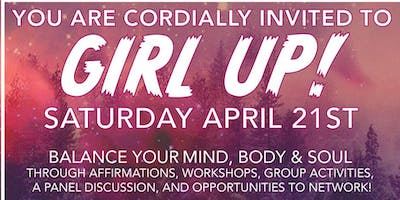 event in Portland: GIRL UP!: Balance Your Mind, Body & Soul