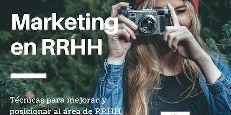 Taller de Marketing en RRHH A DISTANCIA entradas