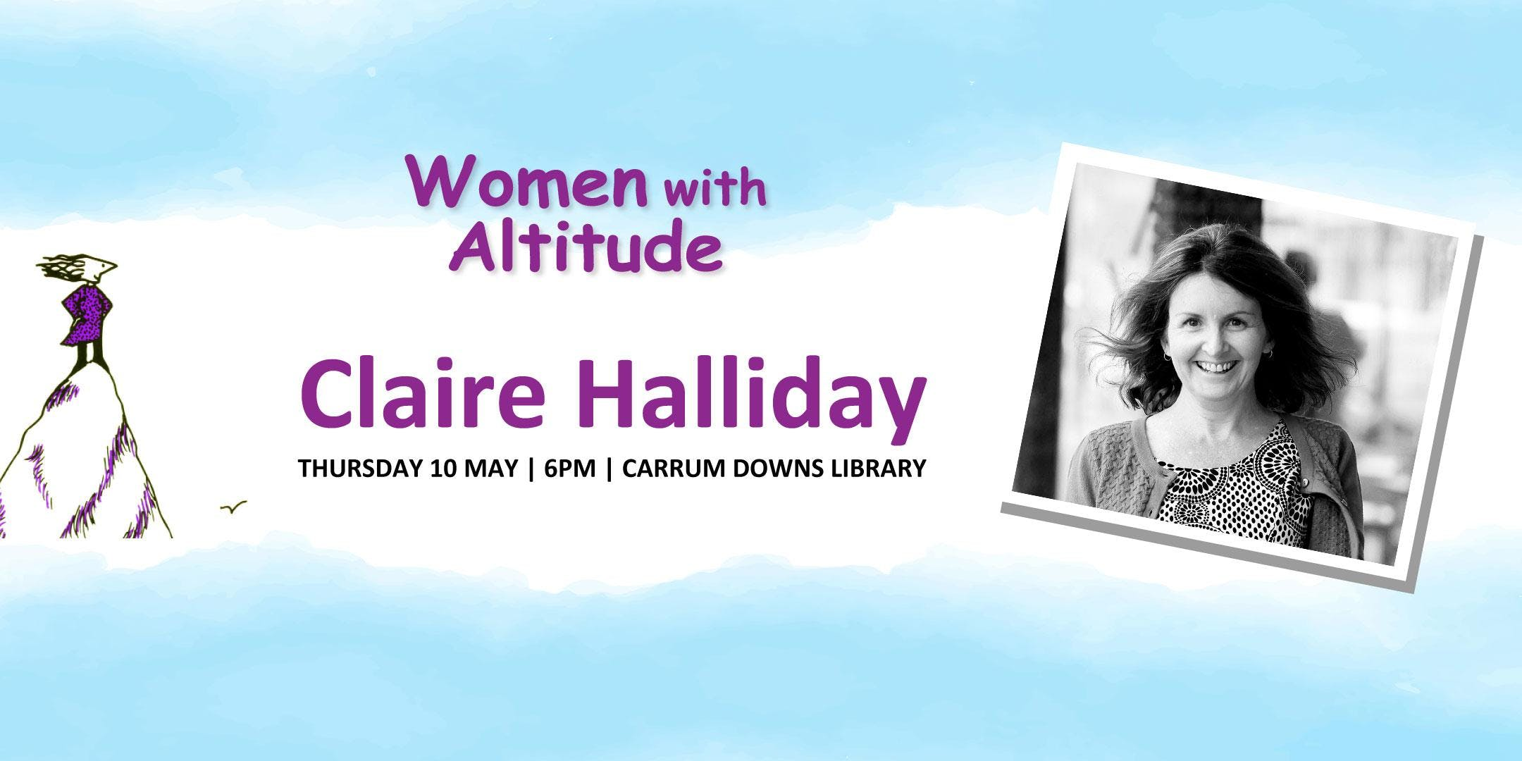 Author Talk with Claire Halliday