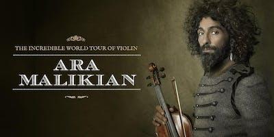 Ara Malikian en San Sebastian. The Incredible World Tour of Violin