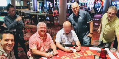 Baccarat and Blackjack Follow the Shoe Practice Session in Las Vegas