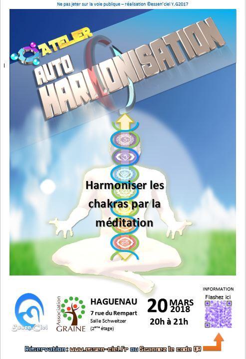 HAGUENAU (mardi 19 juin 2018) Méditation AUTO