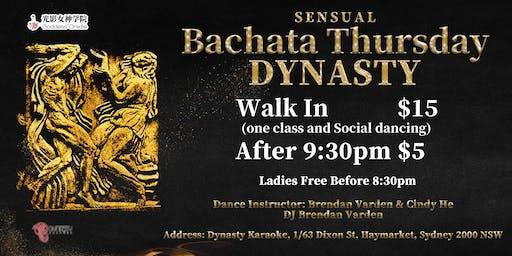 (Cancled)Dynasty Sensual Bachata Thursday Night