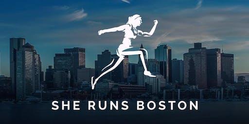 She Runs Boston Weekly Run!