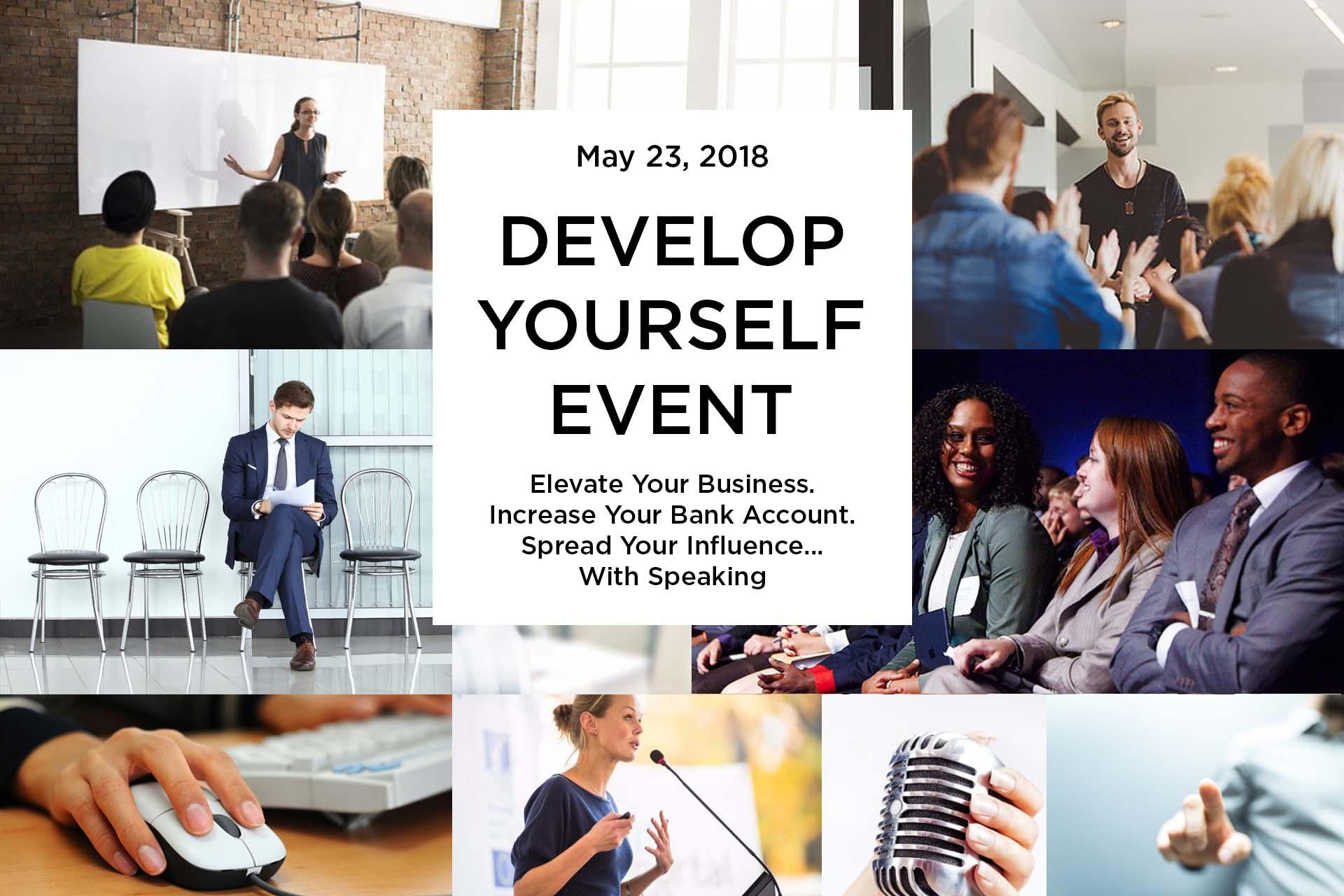 Develop Yourself Event