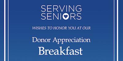 Donor Appreciation Breakfast