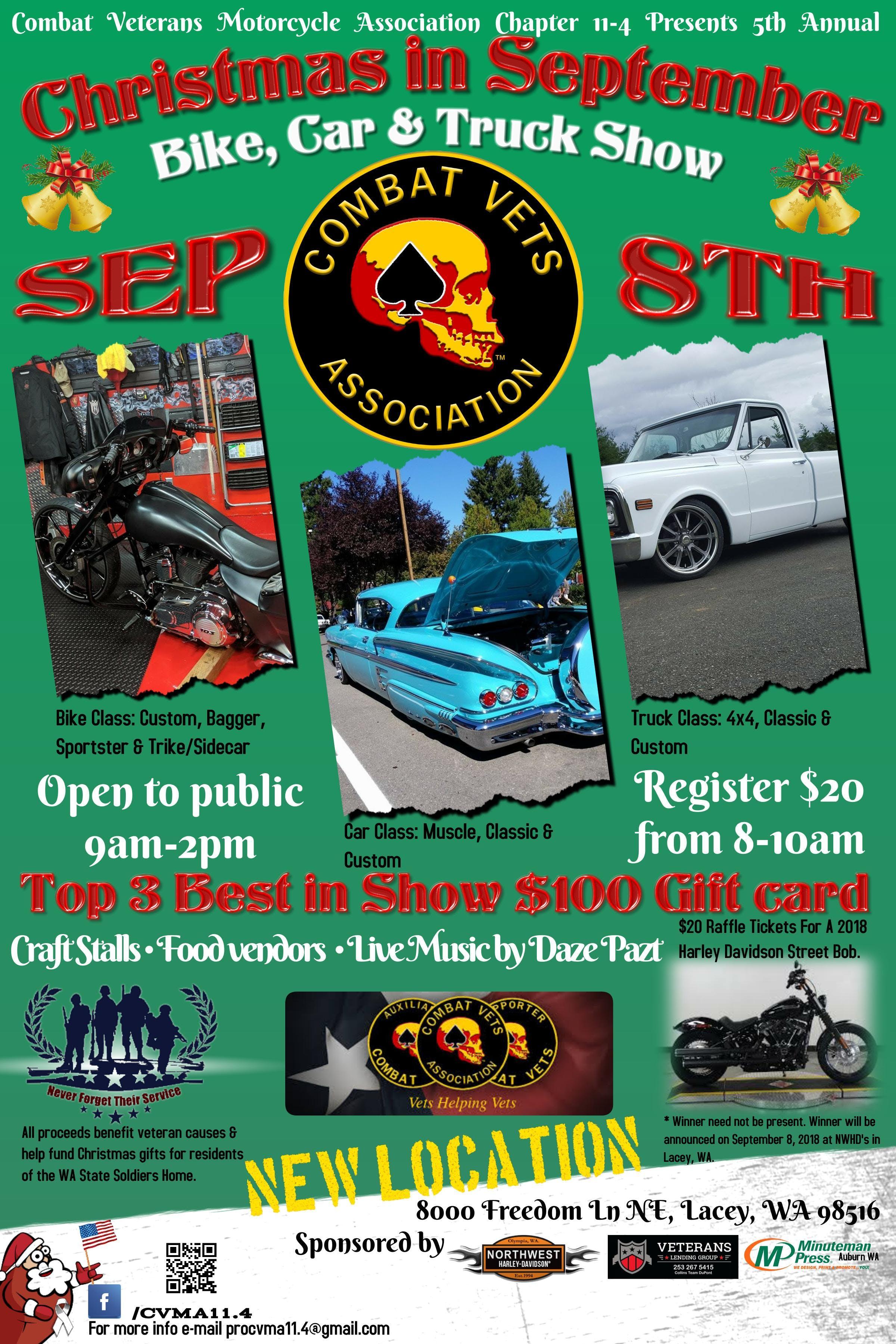 8000 Freedom Ln NE : Christmas In September Bike, Car