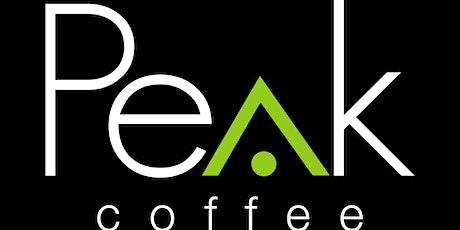 Peak Coffee Training tickets