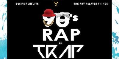 90's RAP VS  TRAP MUSIC ART SHOWCASE - Brooklyn - April Saturday 21 20