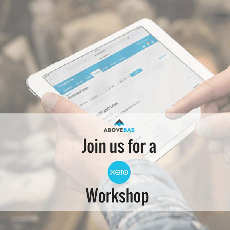 XERO Basics Workshop