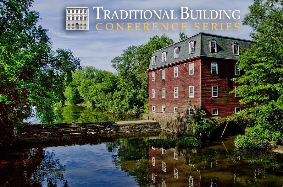 Traditional Building Conference Series - Prin