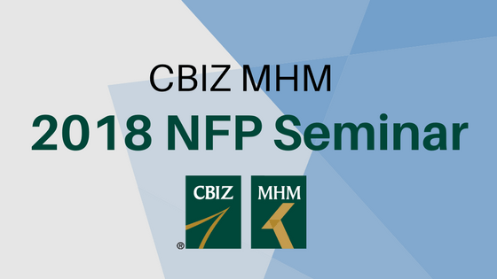 CBIZ MHM Not-for-Profit Seminar