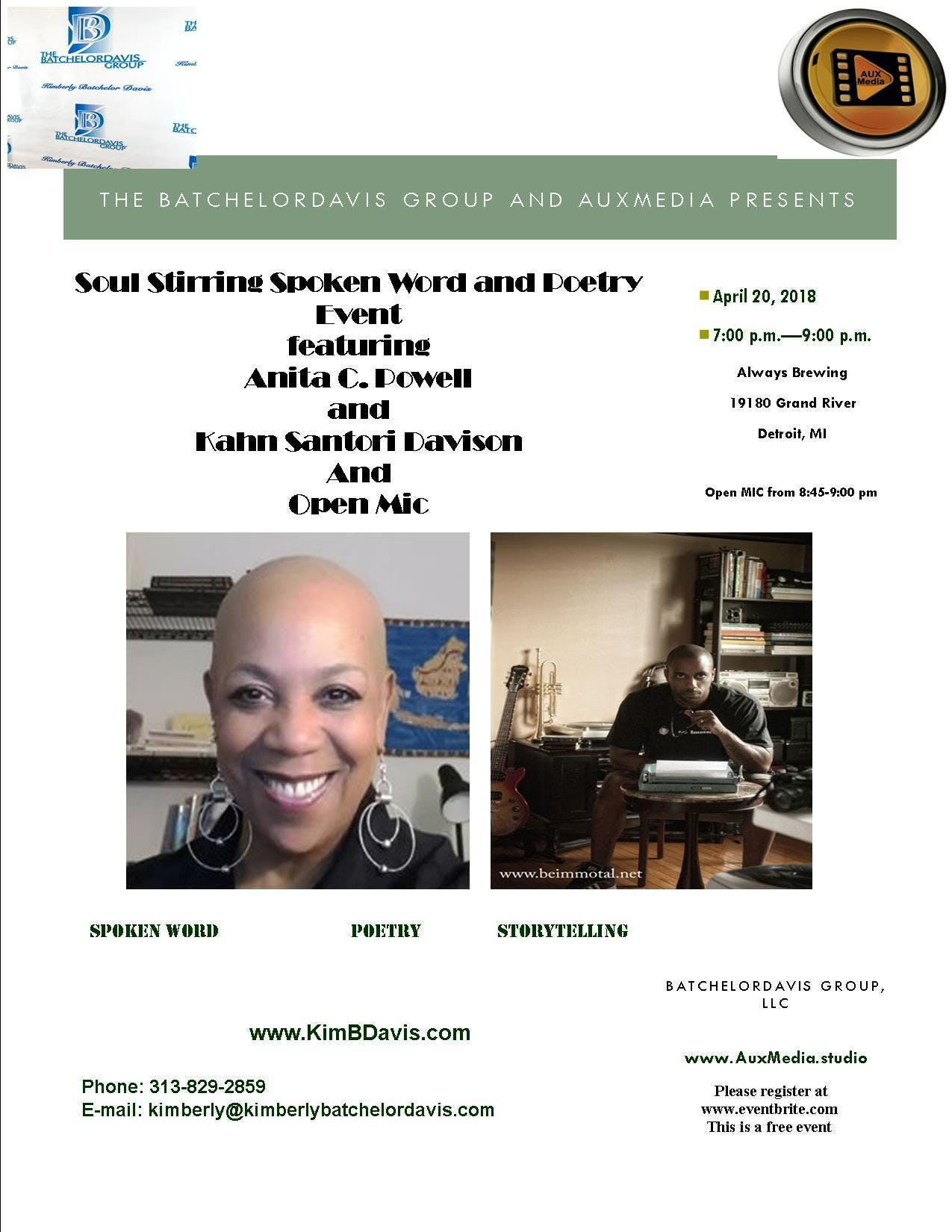 A Night of Poetry/Spoken Word