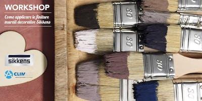 Come applicare le finiture murali decorative Sikkens | Workshop