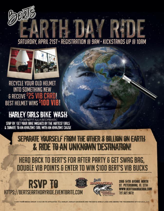 Bert's Earth Day Ride