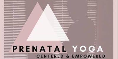 Centered & Empowered Prenatal Yoga