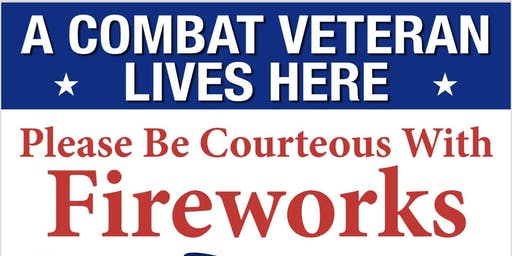 Free Veteran Lawn Signs - 4th of July