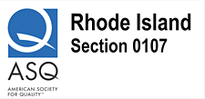 American Society for Quality, Rhode Island Section 0107 logo