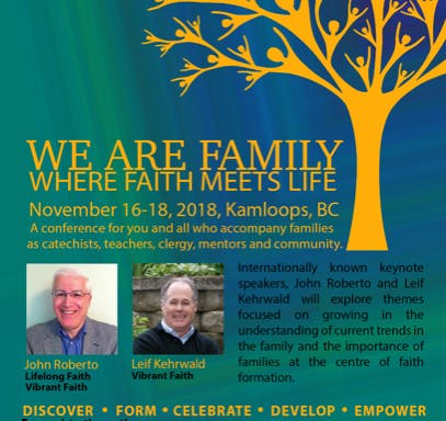 We Are Family Where Faith Meets Life Conference WCCRE 50th Anniversary