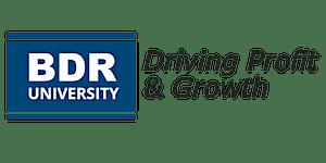 Profit Launch 2019 - BDR's Business Planning Workshop