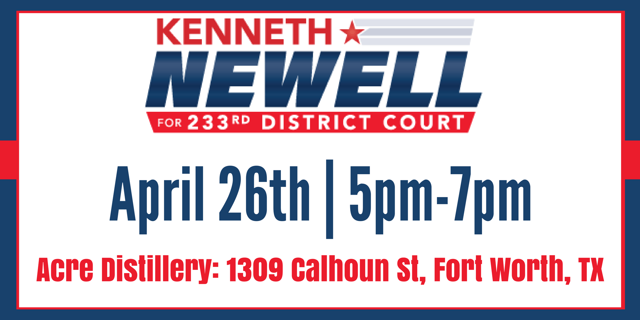 Kenneth Newell Fundraiser